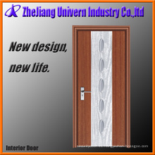 Puerta de madera de PVC