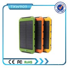 Carregador portátil do telefone da pilha do banco solar do USB 2