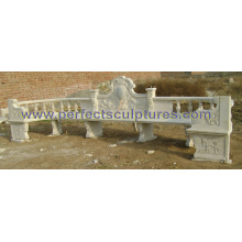 Antique Garden Chairs with Stone Marble Granite Sandstone (QTC055)