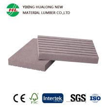 Perfil compuesto de plástico de madera para barandilla de valla (HLM81)