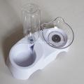 Ajustable 15 grados Cervical Protective Pet Beber Bowl