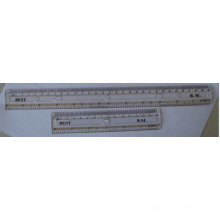 15 Cm Transparent Plastic Ruler for School or Office Stationery