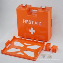Caja plástica de los dispositivos de primeros auxilios del ABS vacío médico del hospital