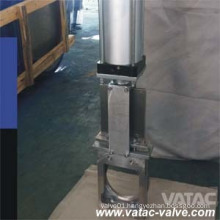 Cast Steel Lug Ending Through Going Knife Gate Valve