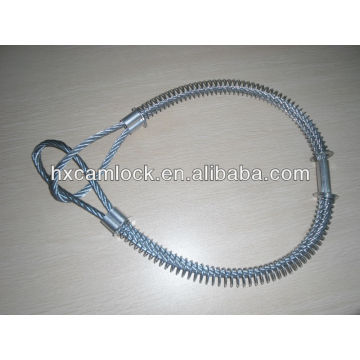 Large Carbon steel Whipcheck safety cable
