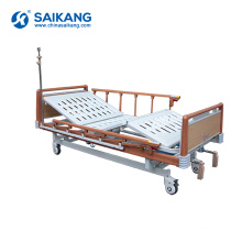SK041-1 Cheap Hospital Manual Patient Beds With Height Adjustable For Sale