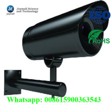 OEM Aluminum Die Casting CCTV Camera Shell Cover with Bracket