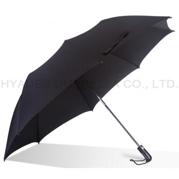 "Ukuran Besar 27 ""Strong Mens Folding Umbrella"