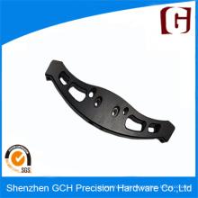 Custom Part Black Anodizado CNC Alumínio Usinagem