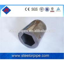 Tubo de acero en forma de 45 # de alta precisión
