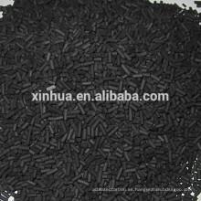 alto valor de yodo carbón activado de coco