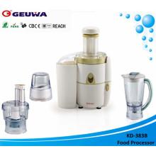 Extractor centrífugo potente de frutas y verduras de 450 vatios (KD-383)