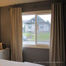 Boa aparência pvc janela deslizante com design de grade Boa aparência pvc janela deslizante com design de grade