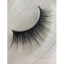 wholesale 100% premium mink fur false strip eyelashes with private label