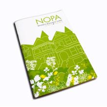 Vollfarb-Offsetdruck Kundenspezifische Broschüre