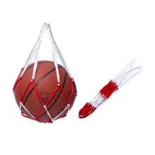 Hollow Portable Nylon Mesh Ball Pockets Volleyball Basketball Football Soccer Net Carry Bag Net