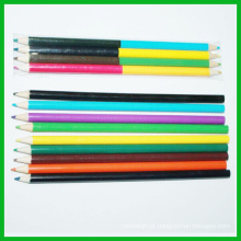 Dupla cor lápis HB na embalagem da caixa de cor