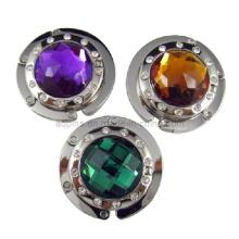 Crochet de sac à main en cristal avec diamant différent (Sac à bagages-04)