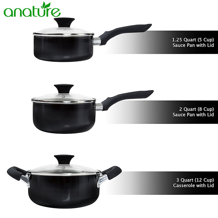 Factory Price 15pcs Mexico Cookware Set