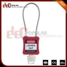 Famous Brands Elecpopular New Products 2016 Safety Cable Padlock