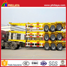 Container Transport Chassis Semi Truck Trailer Long Vehicle