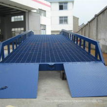 Adjustable Mobile 10t warehouse hydraulic yard ramp container dock ramp mobile loading ramp for forklift Adjustable Mobile 10t warehouse hydraulic yard ramp container dock ramp mobile loading ramp for forklift