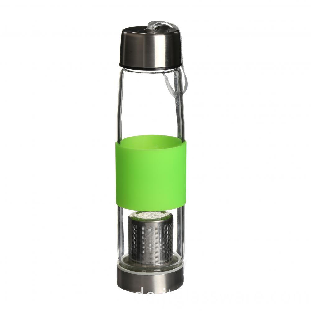 Glass Drinking Water Bottle