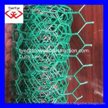 De grille métallique hexagonale galvanisée à chaud et de bonne qualité