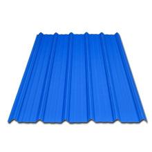 Tuile ondulée enduite de couleur pour la feuille de toiture de bâtiment