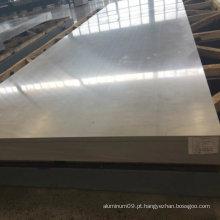 Folha de alumínio anticorrosão 5083 para barco