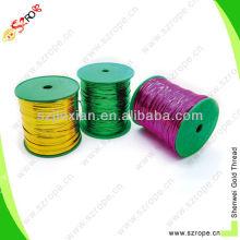 Corbata trenzada de plástico PRE-cut PE con recubrimiento de plástico