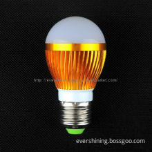 China LED 7w bulb indoor lighting CE&ROHS gold color