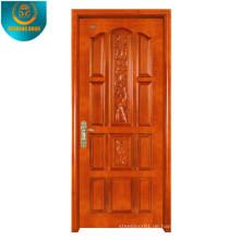 Okoume Holzmaserung Furnier MDF Tür Haut mit verschiedenen Panel