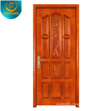 Okoume Wood Grain Veneer MDF Door Skin with Different Panel
