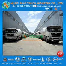 Shacman F3000 LNG 12cbm Concrete Mixer Truck