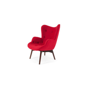 Confortable Grant Featherston Contour Chaise Lounge Chair