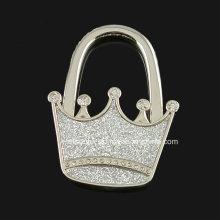 Gancho brilhante da bolsa da coroa para presentes da promoção