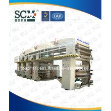 PVDC, PE, PC, film, machine à stratifier à sec