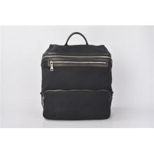 Черный рюкзак из холста с воском Quadra Heritage