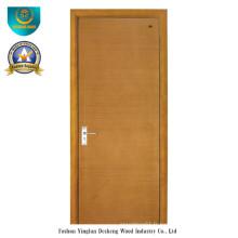 Porte en bois composite solide de style moderne (ds-090)
