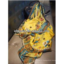 Châle de soie indienne élégante à la mode