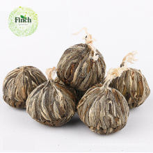 Finch Hot Sale Herbal Art Bola de Chá com Jade Borboleta Flor e Jasmim