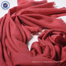 Gros petit ordre Pure grande taille châle de laine SWW716