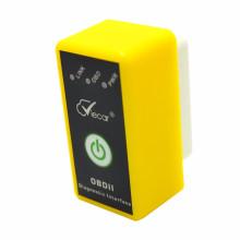 ELM327 Bluetooth adaptateur Auto outil de Diagnostic OBD2 avec interrupteur