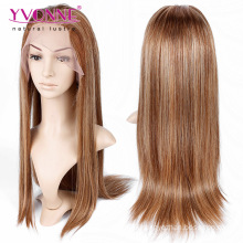 Mix Color Brazilian Straight Full Lace Wig