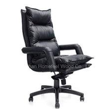 Chaise de bureau pivotant ergonomique moderne en cuir (HF-CH102A)