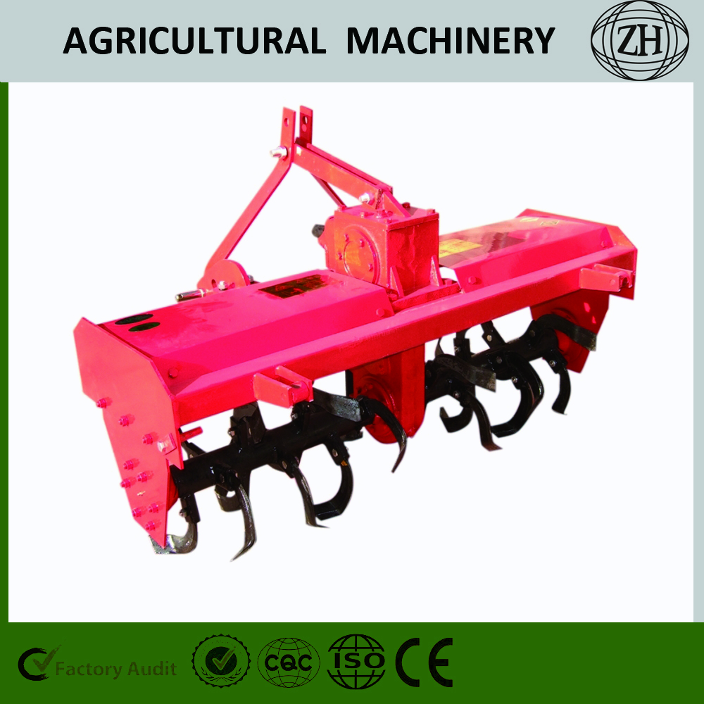 Supporting The Four-Wheel Tractor Rotavator