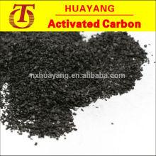 Medios de filtro de antracita 0.5-1mm, 1-2mm, 2-4mm, 4-6mm hechos de materia prima de antracita Shanxi