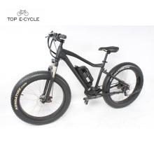 A fábrica fornece diretamente a bicicleta elétrica do mountaion da neve do pneu da gordura