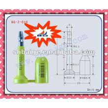 Container hohe Sicherheit Bolzen Dichtungen BG-Z-010 Sicherheitsbolzen Dichtung, Lkw-Türdichtung, Autotürdichtung
